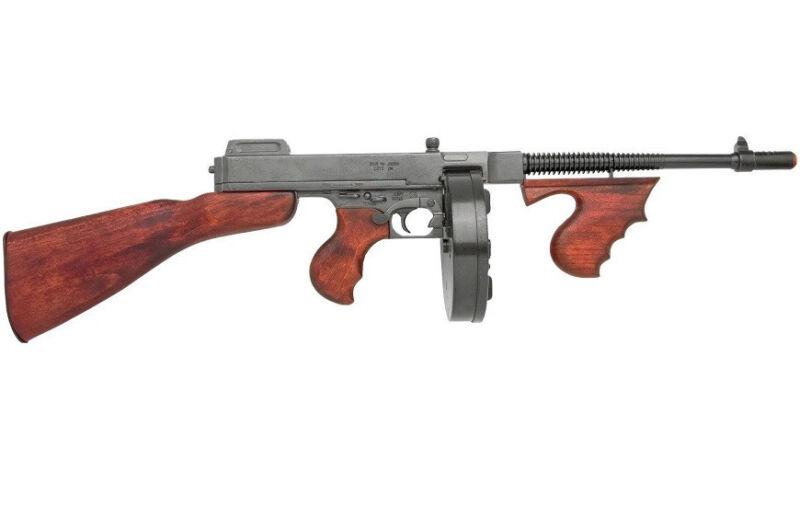 Replica THOMPSON tommy gun Military S.M.G. SUB-MACHINE GUN DENIX NON-FIRING 1928