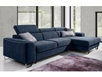 ASTORIA - minimalist sofa fit for a modern living room. Delivery available