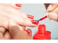 Mobile beauty therapy therapist wax facial manicure pedicure shellac nails tint Brazilian keratin