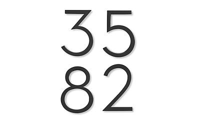 - Authentic House Industries Neutra Modern House Numbers | Design Within Reach