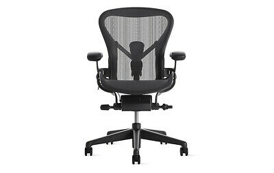 Authentic Herman Miller Aeron Chair Size B Dwr