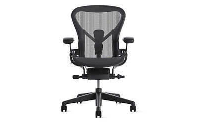 Authentic Herman Miller Aeron Chair - Size-c Large Design Within Reach