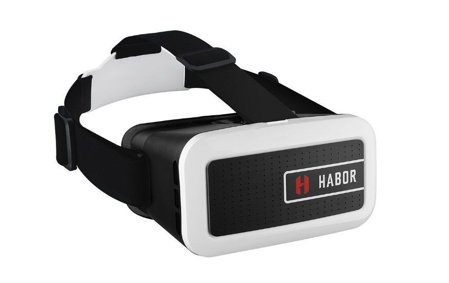 Habor 3D VR Virtual Video Headset Virtual Reality Glasses for Smartphones