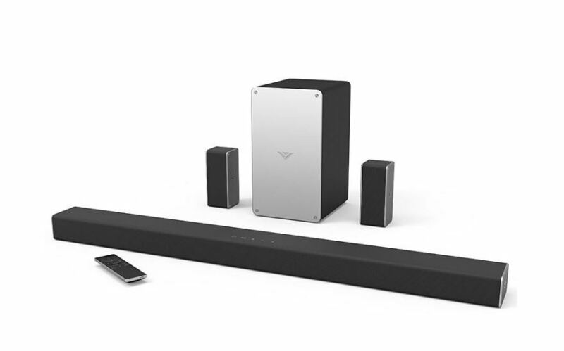 "VIZIO SB3651-F6B-RB  36"" 5.1 SmartCast Sound Bar System Certified Refurbished"