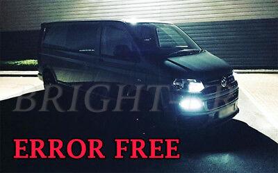 VW Transporter T5 T6 2010+ PURE WHITE DRL Daytime Running CREE LED Light Bulbs ](Cheap White Contact Lenses)
