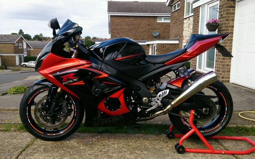 for sale gsxr 1000 k7 5200ono in ipswich suffolk gumtree. Black Bedroom Furniture Sets. Home Design Ideas