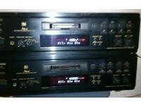 Denon mini disc players /recorders