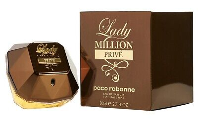 Paco Rabanne Lady Million Prive For Women Perfume 2.7 oz ~ 80 ml EDP Spray for sale  Shipping to India
