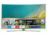 "Samsung 65"" UE65KU6500 4K UHD HDR Curved Smart TV"