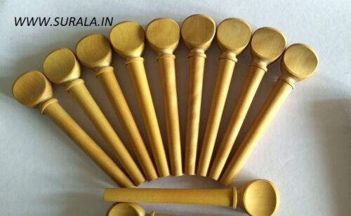 1 Sets Lute Peg Set Of 13 Pieces Box Wood Masurment 9-6-65 MM