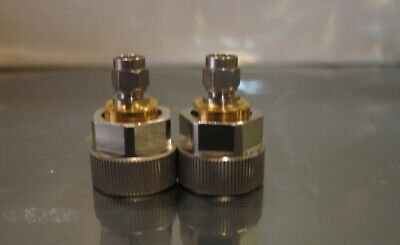 Amphenol Omni Spectra Apc-7 To Sma Male Adapter Set
