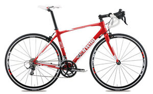 CINELLI-SAETTA-RADICAL-SHIMANO-105-CARBON-ROAD-BIKE-RED-MEDIUM-48-CM