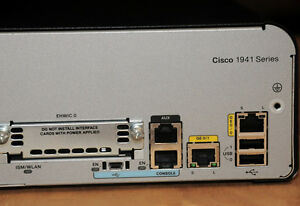 CISCO1941-K9-Integrated-Services-Router-2-x-10-100-1000-6Mth-Warr-Tax-Invoice