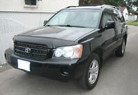 2001 Toyota Highlander Base SUV, Crossover