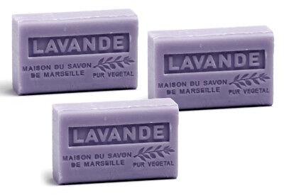 Lavendel-seife (3 x Provence Seife Lavande (Lavendel) - Karité a`60g)