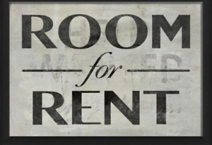 1 bedroom for rent!