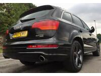 AUDI Q7 3.0 TDI S SLINE QUATTRO+FULL DEALER HISTORY+TWO OWNERS+HPI CLEAR