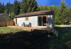 **Short term 1 bedroom Cottonwood Creek Cabin FOR RENT-NELSON**