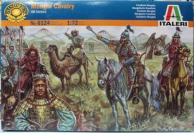 Kit de Montaje Caballeros Mongoles Cavalry N 6124 1:72 XIII Century ITALERI