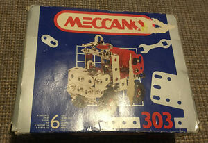 Meccano Set #303 - Motorized Water Cannon - not complete