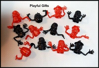 12 Halloween Monster  Stretchy Finger Toppers Party Favor