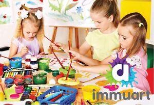 Cours de peinture enfants et adolescents Québec City Québec image 3