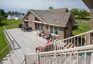 Gorgeous Waterfront home in Douglas Harbour on Grand Lake, NB!