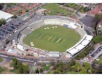 Urgent-Temporary Programme Sellers Required Edgbaston Cricket Ground Friday 5th & Saturday 6th Aug