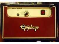 EPIPHONE VALVE JUNIOR VALVE AMPLIFIER