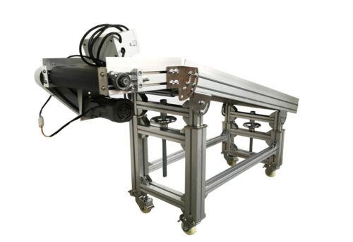 "TECHTONGDA Conveyor,59""*11.8"" Incline&Flat Combined Conveyor System for Transpor"
