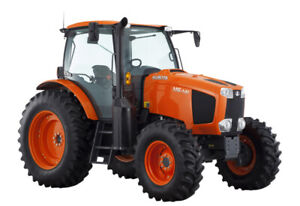 2018 Kubota M6 141 tractor, 6 month rental for only $6500 total