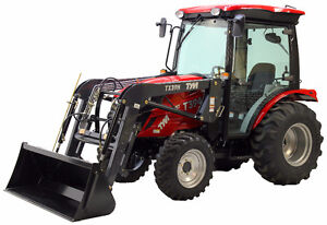 TYM 394 HC With loader and blower Package