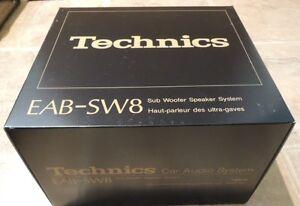 Technics EAB-SW8 8 Inch Sub-Woofer Brand New In It's Box