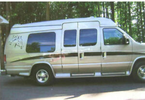 Camper Van Ford F250 - Wheelchair accessible