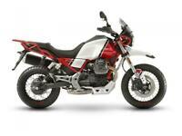 Moto Guzzi E4 V85TT Kalahari Red available NOW 9499 Deposit Now for March 1st
