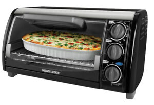 Black and Decker Home Toast-R-Oven Broiler Black New in box