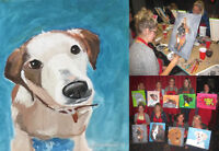 PAINT YOUR PET AT BOSTON PIZZA IN TRENTON!