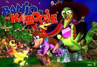 Banjo kazooie sur nintendo 64 à bon prix.