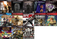 PS3 Games For Sale/Trade - Last Of Us, NiNo Kuni, Bioshock, more