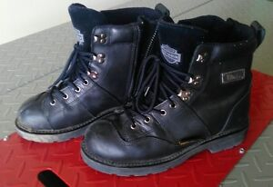 Harley Davidson Full Leather women's motorcycle boots