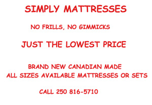 LOWEST MATTRESS SET PRICES IN NANAIMO