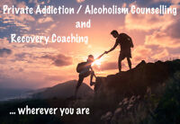 Addiction/Alcoholism Counselling and Coaching