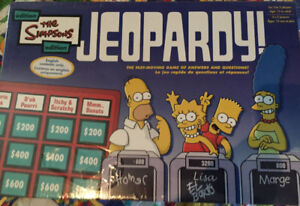 Simpsons Jeopardy new in box