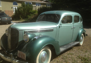 Antique 1938 Dodge Brothers - 4 door Sedan
