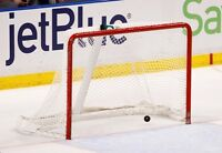 looking for a goalie