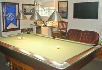Brunswick Billiard Pool Table Gold Crown IV Competion 9' x 4.5'