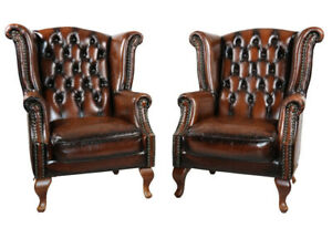 Warehouse clearance, BRAND NEW 100%Leather Chesterfield Sofa Set