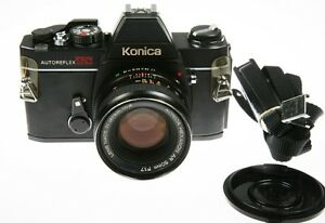 Konica TC body with AR 50mm f1.7 Lens