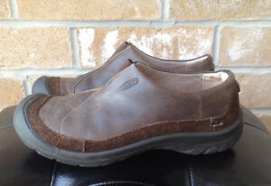New - Women's Keen Brown Leather Shoes