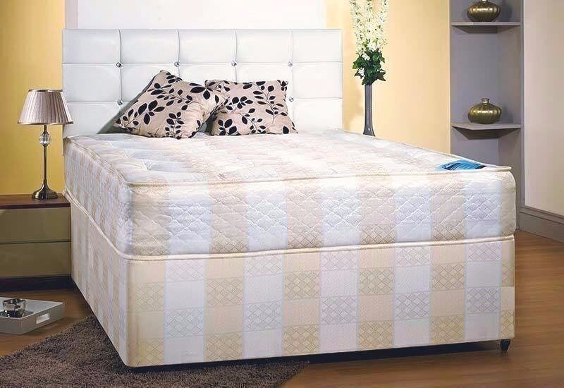 💥💥***BARGAIN** BRAND NEW FACTORY SEALED WINDSOR DOUBLE BED* DIVAN* & COIL SPRING MATTRESS**💥💥